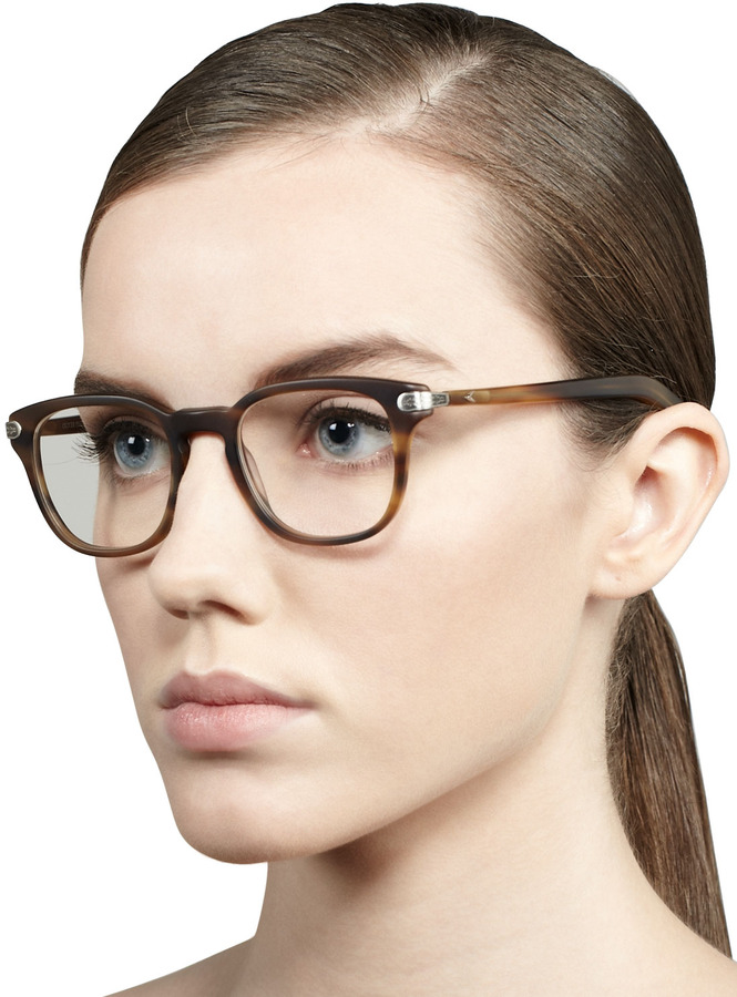 Oliver Peoples 25th Anniversary Fashion Glasses, Matte Sandlewood