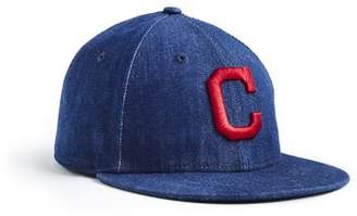 Todd Snyder + New Era + NEW ERA MLB CLEVELAND INDIANS CAP IN CONE DENIM 624352118b00