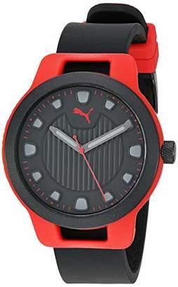 Puma Men's Reset V1 Quartz Watch with Silicone Strap
