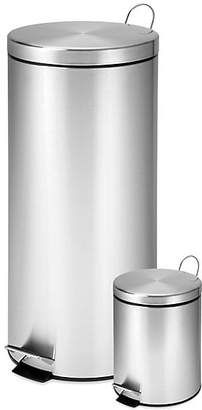 Honey-Can-Do 30L & 3L Trash Can Set