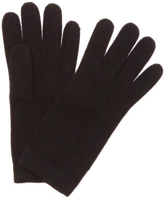 Portolano Women's Black Cashmere Gloves