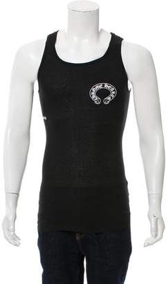 Chrome Hearts Rib Knit Logo Tank