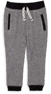 Splendid (スプレンディッド) - Splendid Splendid Baby Boy's Waffle Knit Jogger Pants - Marl Grey - Size 6-12 Months