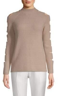 Fallon Raglan-Sleeve Sweater