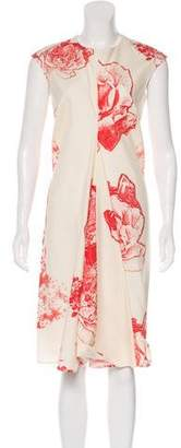 Stella McCartney Silk Midi Dress w/ Tags