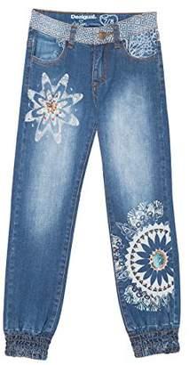 Desigual Girl's Denim_Fernan Jeans,(Manufacturer Size: 11/12)