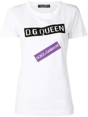 Dolce & Gabbana Queen T-shirt