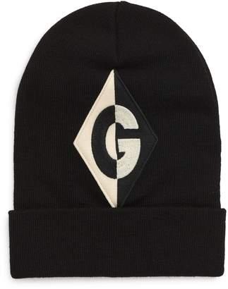 Gucci Harlequin Applique Knit Wool Cap