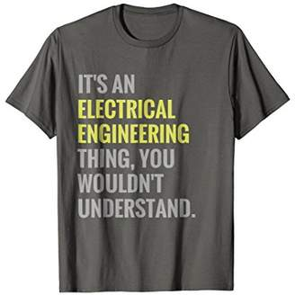 Funny Electrical Engineering Tshirt Engineer Electrician