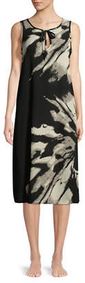 J Valdi Printed Midi Dress