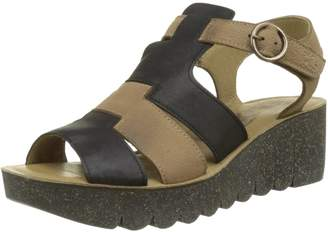 Fly London Yuni - (Brown) Womens Sandals 6.5/7 US