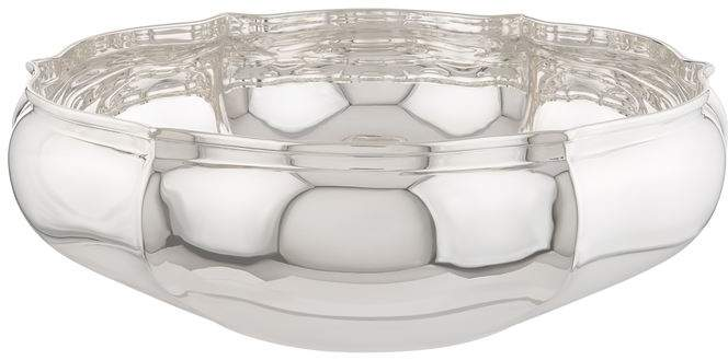 Greggio Silver Plated Georgian Centrepiece Bowl (23cm)