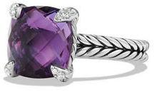 David Yurman 11mm Châtelaine Ring w/Diamond Prongs