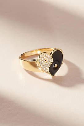 Anthropologie Yin + Yang Ring