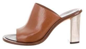 Celine High-Heel Leather Sandals