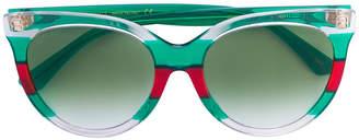 Gucci tricolour sunglasses