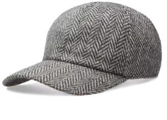 Officine Generale Herringbone Wool Cap