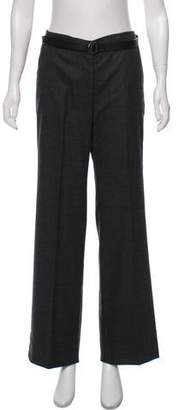 Luciano Barbera Wool Mid-Rise Pants