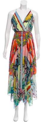 Alice + Olivia Patterned Maxi Dress