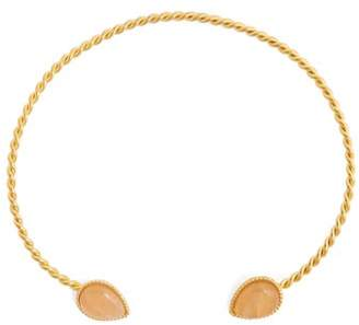 Sylvia Toledano - Quartz And Gold Plated Necklace - Womens - Pink