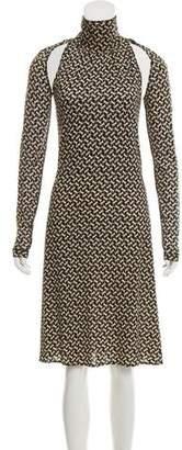 Alessandro Dell'Acqua Silk Sleeveless Dress