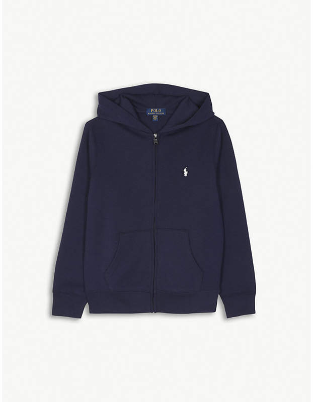 Logo zip hoody 6-14 years
