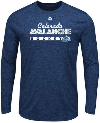 Majestic Men's Colorado Avalanche Crash the Net Long Sleeve T-Shirt