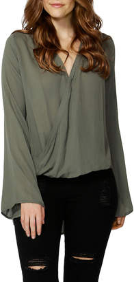 Sass Thea Crossover Front Blouse 11589TWSS