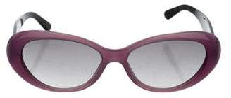Chanel Oval Tinted Sunglasses