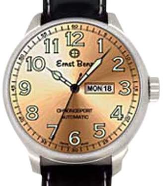 "Ernst Benz Chronosport"" Stainless Steel Mens Watch"