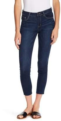 Jolt Clean Skinny Raw Hem Jeans