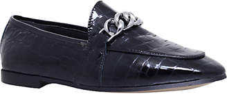 KG by Kurt Geiger Kenzie Chain Loafers, Black