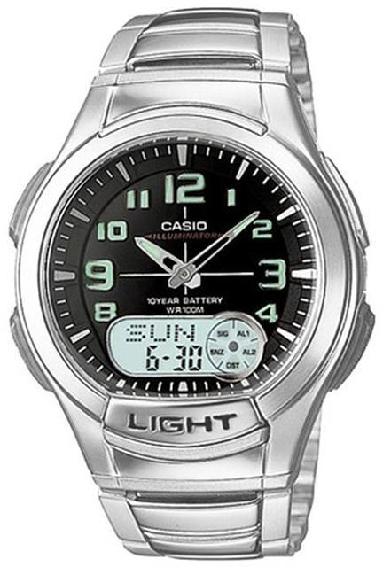 CasioCasio AQ-180WD-1BV Men's Ana-Digi Light Watch