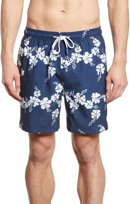 f554cd988e Southern Tide x Reyn Spooner Floral Swim Trunks