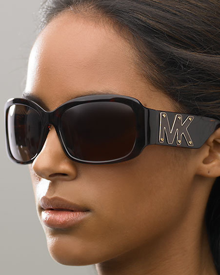 Michael Kors Plastic Square Sunglasses