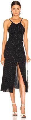 Alice McCall Oscar Rouched Midi Dress in Black | FWRD
