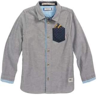 Scotch Shrunk Contrast Pocket Shirt
