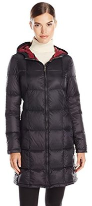 Tommy Hilfiger Women's Packable Down Jacket with Hood $154 thestylecure.com