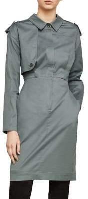 BCBGMAXAZRIA Long-Sleeve Sheath Dress