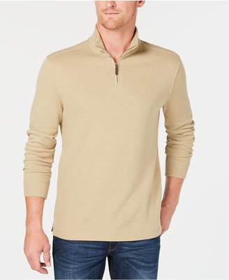 Club Room Men's Quarter-Zip Pullover Sweater, Created for Macy's