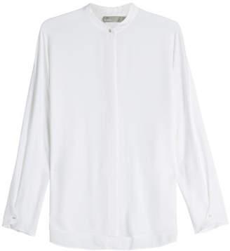 Vince Envelope Sleeve Silk Blouse