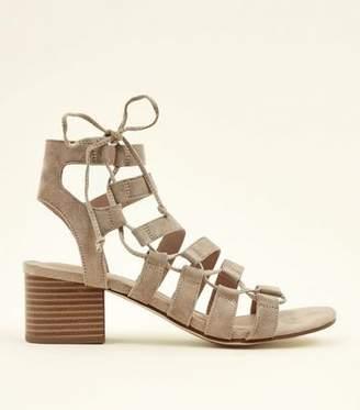 24c3e6fbb74 Heeled Lace Up New Look - ShopStyle UK