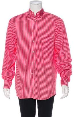 Paul & Shark Striped Dress Shirt