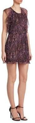 IRO Glorie Ruffle Front Dress