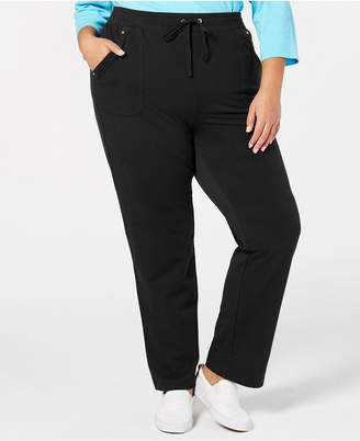 Karen Scott Plus Size Pull-On Pants