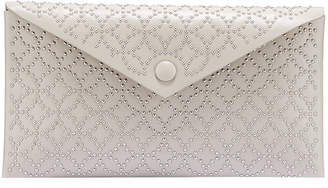 Alaia Louise Beaded Envelope Clutch Bag