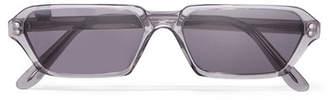 Illesteva Baxter Ii D-frame Acetate Sunglasses - Gray