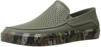 Crocs Men's CitiLane Roka Camo Band Slip-On Flat