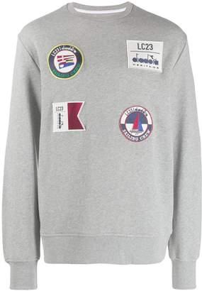 Diadora patch-embellished sweatshirt
