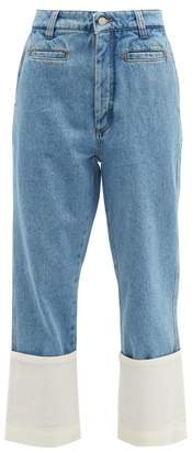 Loewe Fisherman High Rise Jeans - Womens - Denim